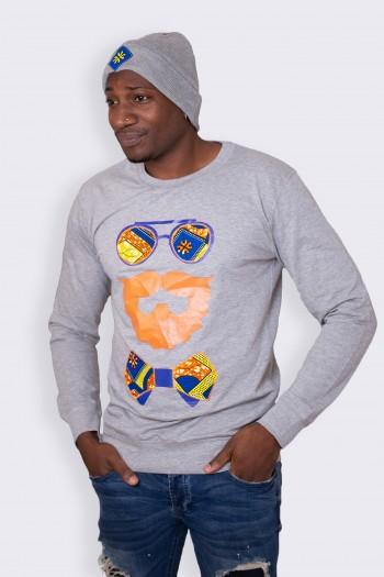 African print Sweatshirt Udevu
