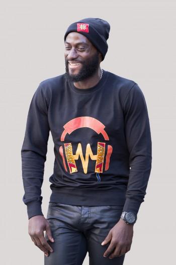 African print Sweatshirt Wimba