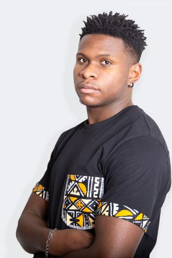 T-shirt Wax Bogolan Baane