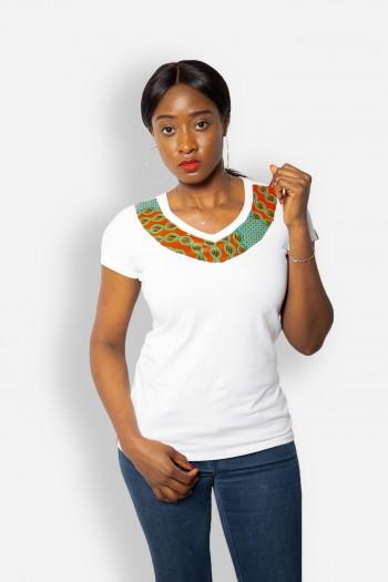 African print T-shirt Kidani