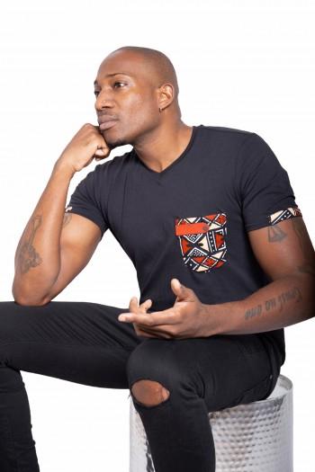 T-shirt Wax Bogolan Umoja