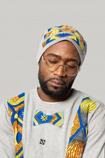 African print beanie Naja