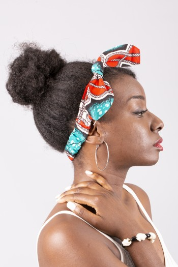 African print  headband Lombe