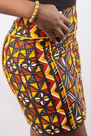 African print Bogolan...