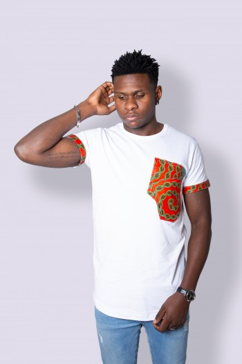 African print T-shirt Maneva