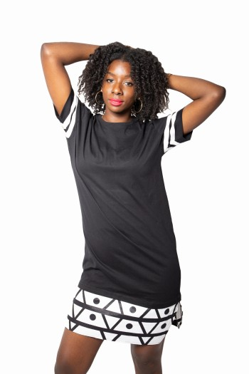 Oversized African print...