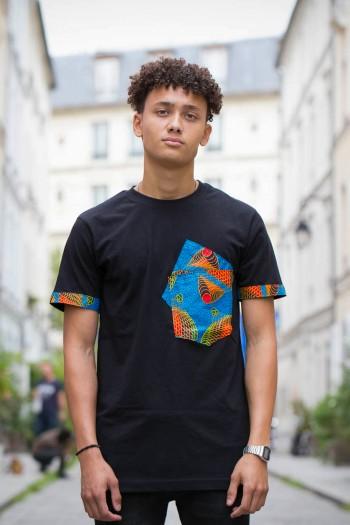 African print T-shirt Ramiz