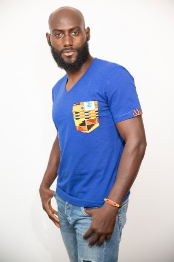 T-shirt Wax Kenté Mobali