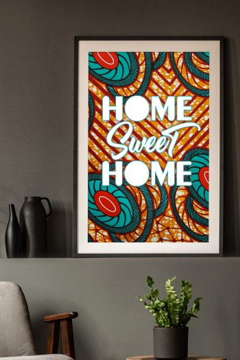 Affiche Wax Sweet Home