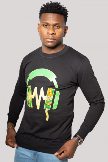 African print Sweatshirt...