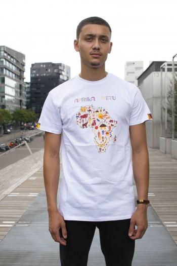 T-shirt wax Kenté Afrika Wetu
