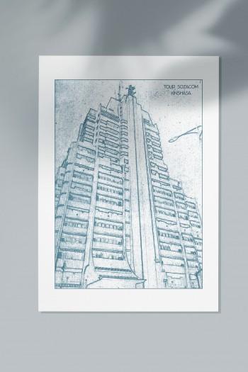 Affiche Monuments Kinshasa