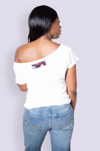 T-shirt Wax Bogolan Fura
