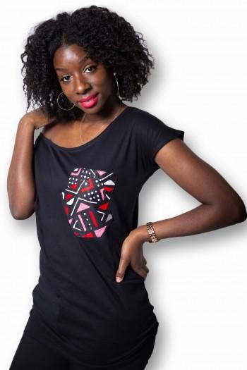 T-shirt Wax Bogolan Uzuri