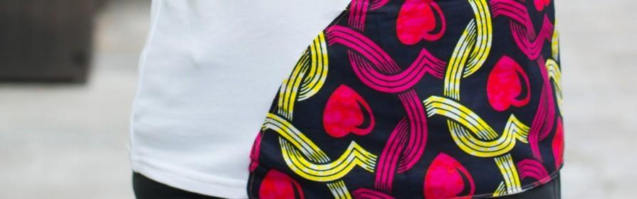 Achetez  des t-shirts pour Femme | Hauts africains, T-shirt Wax, T-shirt Bogolan - Tendiwax