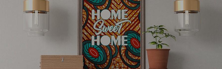 Affiches et posters avec thèmes africains  - Tendiwax