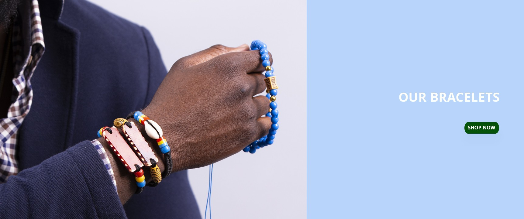 Our beautitull and fashion african bracelets