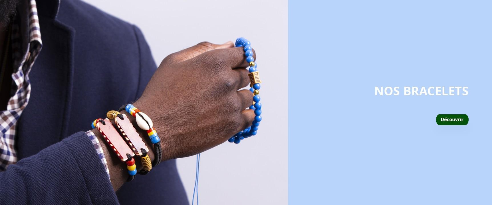 Nos beaux  bracelets africains